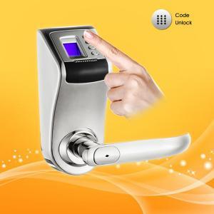 Best Password and Fingerprint Door Lock  with Low voltage Warning Function wholesale