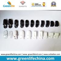 Buy cheap Plastic ABS Clasp Clips Black White Clear Colors from wholesalers