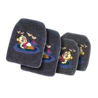 China Black All Weather Personalized Car Floor Mats Protect From Liquids on sale