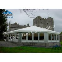 Best Flame Retardant Outside Event Tents Sound Insulation With Light Frame Steel Structure wholesale
