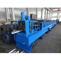 China Metal Wire Post Peach Shape Fencing Post Roll Forming Machine on sale