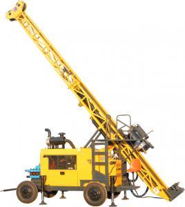 Best 1000m Wheel Type Full Hydraulic Core Drilling Machine wholesale