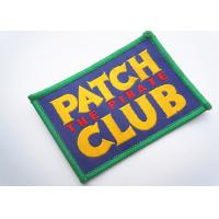Best Handmade Custom Clothing Patches Embroidered Brand Logo Patch wholesale