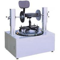 Best Micro computer controller Chair Testing Machine , Office Chair Swivel Cycling Durability Tester wholesale