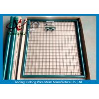 Best Hot Dipped Welded Fence Gate With Stainless Steel Lock OEM Acceptable wholesale
