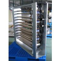 Custom Large Finned Tubular UL Tutco Electric Duct Heater For Commercial Various Sizes