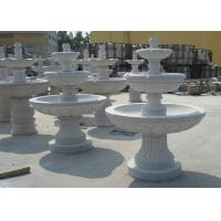 Best Marble  / Granite Water Fountain Outdoor , Natural Stone Garden Fountains wholesale