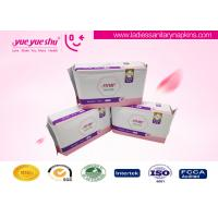 Best Ladies Use High Grade Sanitary Napkins , Pearl Cotton Surface Menstrual Period Pads wholesale
