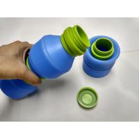 Best 400 ML Outdoor By Bike Folding Silicone Drinking Cup With PP Lid wholesale