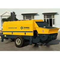 Truck Mounted Concrete Pumping Equipment Electric Engine Type CE ISO Approved