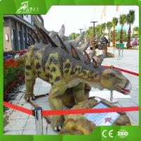 Best Outdoor and Indoor Playground Equipment Animatronics Stegosaurus wholesale