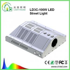 Best Outdoor Led Street Light 100w Parking Lot Lighting 85-265v Warm White 3000-3500k wholesale
