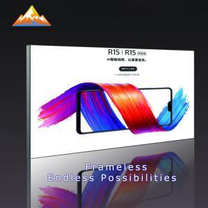 China Aluminium Led Textile Frame LED Illuminated Textile Frames For Advertising on sale