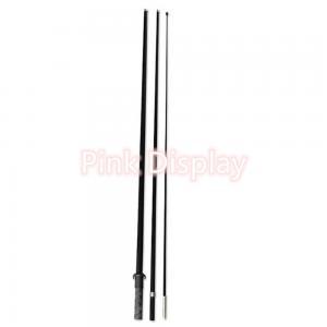 Best Aluminum Fiberglass 3.9m Vertical Flag Pole wholesale