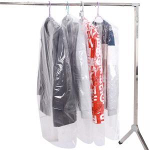 Best Laundrette Disposable Clear Garment Bags Polythylene Clothes Protector Bags wholesale