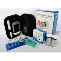 China GlucoLeader blood glucose meter  with strip on sale