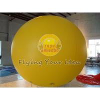 Best Big Yellow Inflatable Advertising Balloon with Full digital printing for Sporting events wholesale