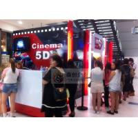 Best Mini 5D Theater Equipment with Beautiful Cinema Cabin and 5D Simulator wholesale