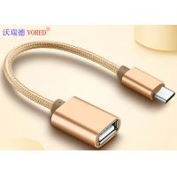 Best USB To Type C Micro USB Data Transfer Cable , OTG Mobile Phone USB Cable wholesale