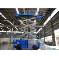 Best 16m Mobile Self Propelled Scissor Lift Two Man Engine Powered For Tight Spaces wholesale