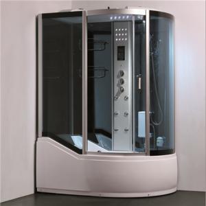 Best Single Glass Shower Cabin Shower Steam Room Enclosures With Slide Bar Tub wholesale
