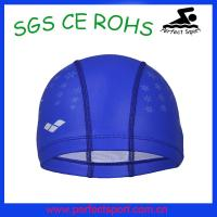 Cheap Arena High quality of lycra swimming caps,polyester swimming caps for sale