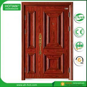Best Cheap Price Commercial Waterproof Steel Security Door Popular Nigeria Metal Skin Doors wholesale