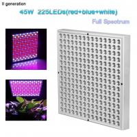 Best Indoor Greenhouse Led Grow Lights Panel PC Cover With 10W Wattage wholesale