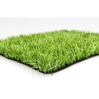 Best Dark Green Outdoor Artificial Grass , Environmental Synthetic Grass For Cricket / Hockey wholesale