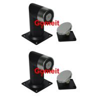 Best 60kgs 130lbs Electromagnetic Door Holder Floor Mounted With Emergency Release Button wholesale