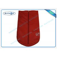 Best Breathable Reusable Protective TNT Material Garment Storage Bags With Handle wholesale