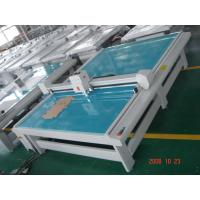 Quality Paper Box Cutting machine WITH Oscillating knife , pen , creasing wheel , drag knife wholesale