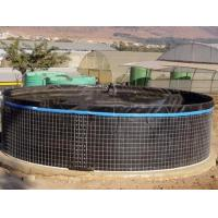 Best 20000L PVC Fish Farming Tank with Lid, Flexible Tarpaulin Wire Mesh Tank For Agricultural wholesale