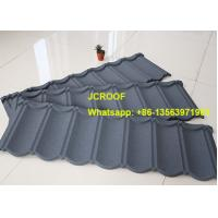 Best Against Snow Pure Corrugated Metal Roofing Sheets Black Shingle With 40 Years Warranty wholesale