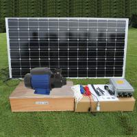 Best DC brushless Surface Solar Pond Pump , Solar Powered Water Pump For Fountain and House Use wholesale