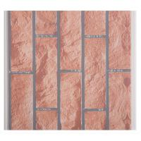 Best X Hollow Core Structure Plastic Brick Wall Panels , Decorative Plastic Wall Covering Sheets wholesale
