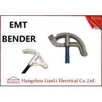 "Best 3/4"" 1"" Aluminum EMT Conduit Bender Conduit Tools with Blue / Yellow / White Handle wholesale"