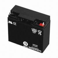 China Deep Cycle Sealed Lead-acid Battery, 12V Voltage on sale
