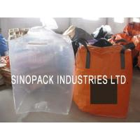Best Large clear Form Fit PE Bulk Fibc big bag liner for carbons / fine powder wholesale