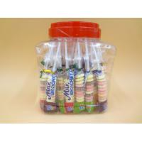 Best Funny Milk Flavored Brochette Sugar Candies With Jar Various Candy Shapes wholesale
