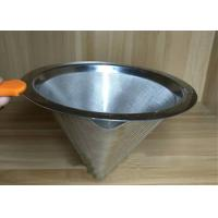 Best Professional Ceramic Stainless Steel Filter Cup Custom Hole Pattern And Size wholesale