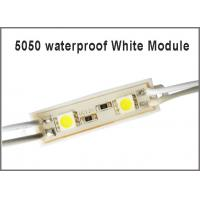 China Led Module For Billboard LED sign modules lamp light 5050 SMD 2LED RGB/Red/Blue/Warm/White Waterproof DC 12V on sale