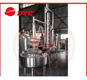 Best 500L Custom Steam Heating Reflux Still , Vodka Distillation Equipment wholesale