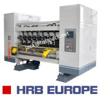 Best 03 Ply Corrugated Box Machine HRB-150-1800 Automatic 320mm Corrugated Roller wholesale