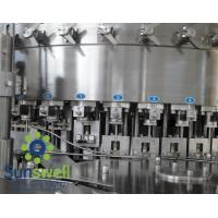 Best Liquid CSD, cola, wine bottle carbonated  filling machines, water bottling machinery wholesale