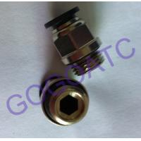 """Quality Pneumatic 6mm Thread 1/4"""" Quick Connect Connector , Air Straight Hose Fitting Quick Connector Coupling wholesale"""