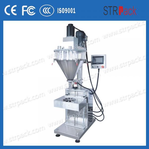 Cheap Semi Automatic Auger Powder Filling Machine For Flour Powder Sachet / Detergent for sale
