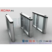 Best Automated Pedestrian Barrier Gate , Turnstile Security Systems 304 Stainless Steel wholesale