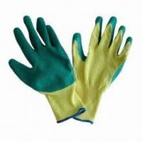 Best Fireproof Latex Dipped Gloves with Kevlar Seamless Lining wholesale