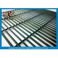 Best Anti Cutting Power Station Wire Mesh Fence 3000mm High Security Fence Dark Green RAL6005 wholesale